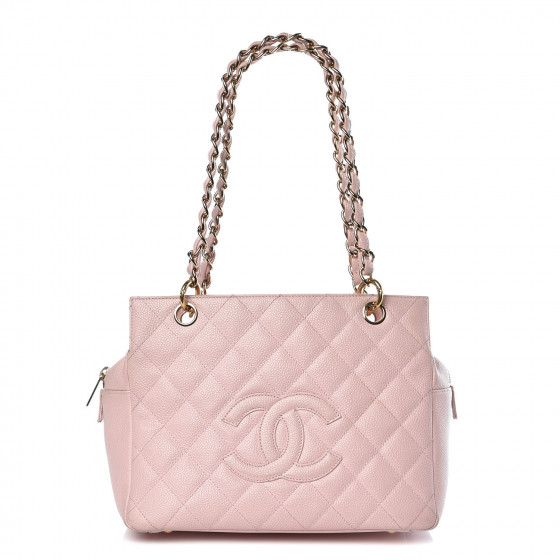f0f799bdd5f0 CHANEL Caviar Quilted Petit Timeless Tote PTT Pink. Empty. Pinch/Zoom. ‹ ›  ‹ ›