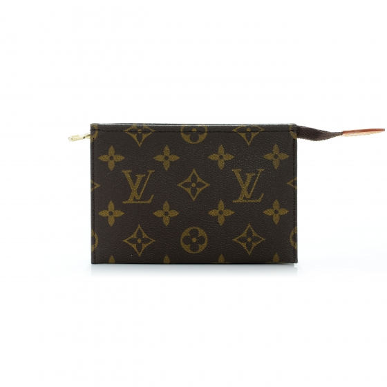 57c3a6150780 LOUIS VUITTON Monogram Toiletry Pouch 15. Empty. Pinch Zoom. ‹ › ‹ ›