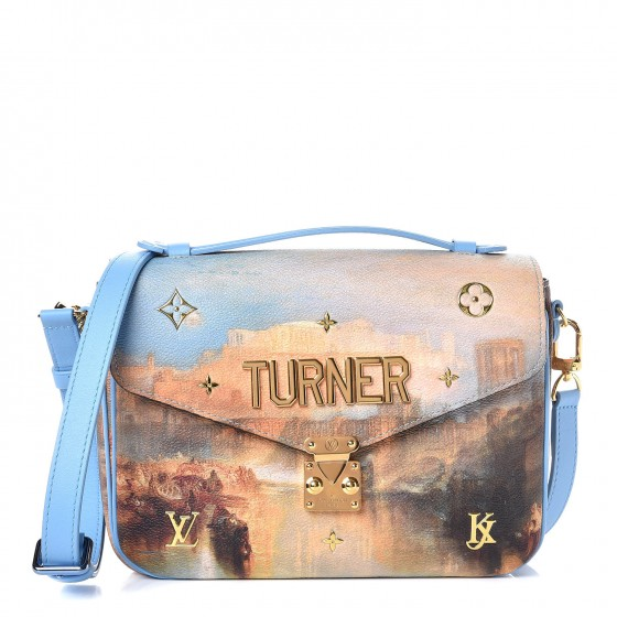 cd6f28d31cb4 LOUIS VUITTON Masters Jeff Koons Turner Pochette Metis 295948