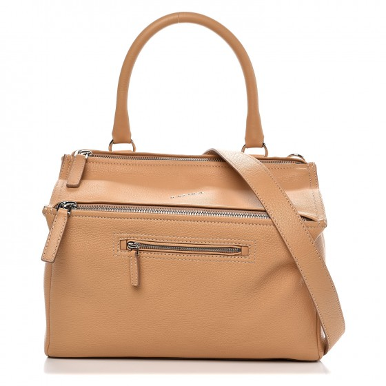 6ff91440d08 GIVENCHY Sugar Goatskin Medium Pandora Messenger Light Beige 294558