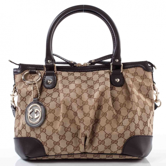 f6477d692eb904 GUCCI Monogram Sukey Medium Top Handle Bag 36430