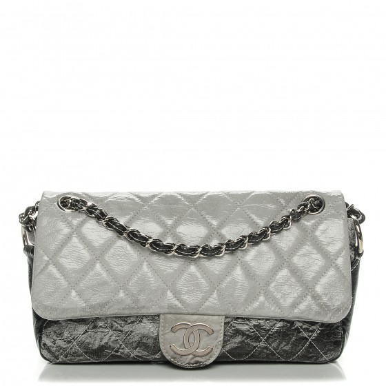 1a44b9eb78b6 CHANEL Vinyl Quilted Small Melrose Degrade Flap 193004