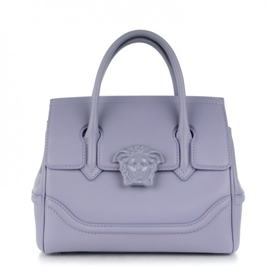 956f5a29c5 VERSACE Calfskin Medium Palazzo Empire Bag 173035
