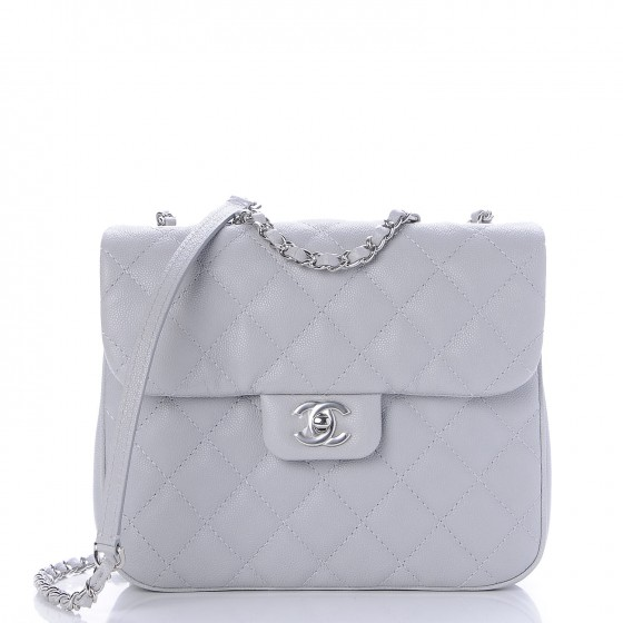 863c1bf02cc2 CHANEL Caviar Quilted Medium Urban Companion Flap Grey 237128