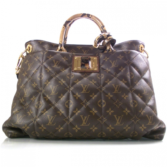 48bdf3d07206 LOUIS VUITTON Monogram Etoile Exotique Tote GM 17219