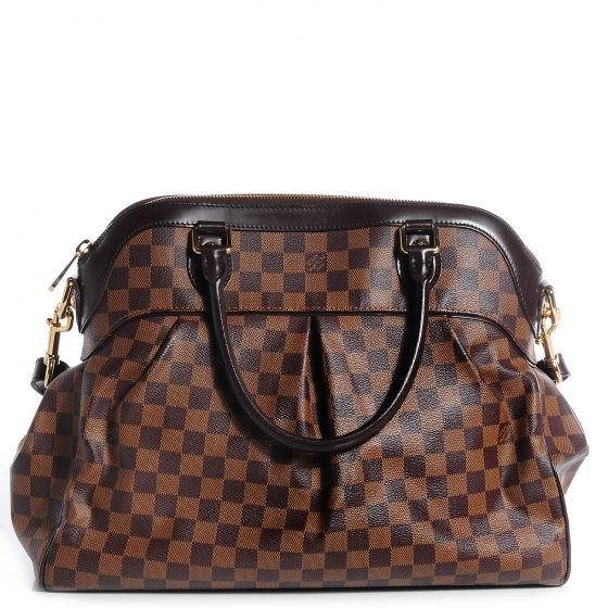 20772bfb6544 LOUIS VUITTON Damier Ebene Trevi GM 77421