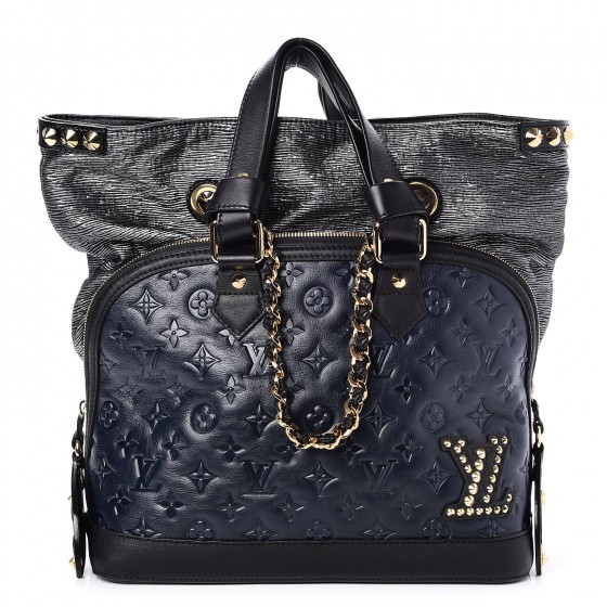 95237ee05a55 LOUIS VUITTON Monogram Double Jeu Neo Alma Blue 242609