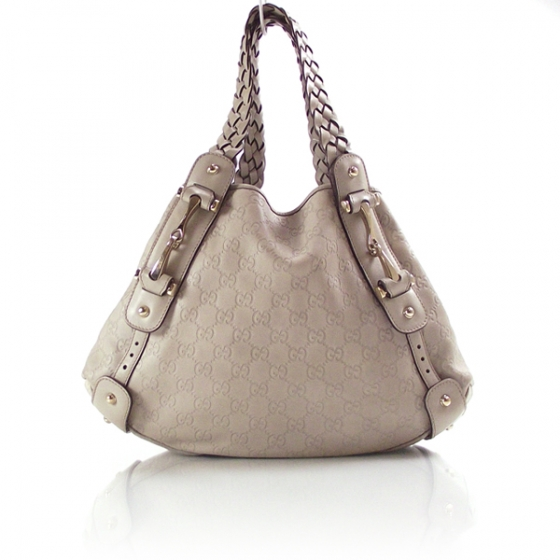 203f3cbc344 GUCCI Guccissima GG Leather Pelham Beige 10860