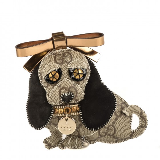 d1f7fc08d53 GUCCI GG Supreme Monogram Sam Dog Key Charm. Empty. Pinch Zoom. ‹ › ‹ ›