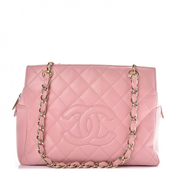 6c3a8f5a67b6 CHANEL Caviar Quilted Petit Timeless Shopping Tote PTT Pink. Empty. Pinch/ Zoom. ‹ › ‹ ›