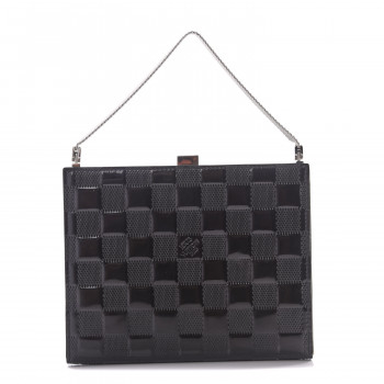 LOUIS VUITTON Damier Vernis Ange MM Black