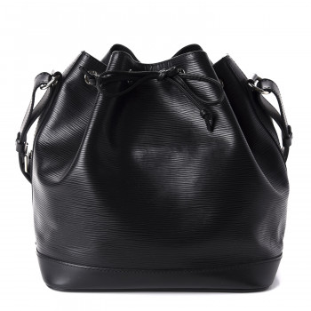 LOUIS VUITTON Epi Petit Noe NM Black