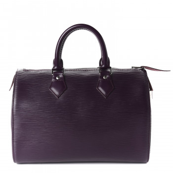 LOUIS VUITTON Epi Speedy 25 Cassis