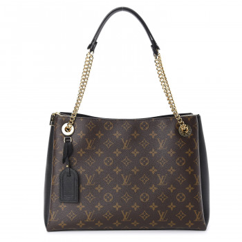 LOUIS VUITTON Monogram Surene MM Black