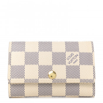 LOUIS VUITTON Damier Azur Multicles 6 Key Holder