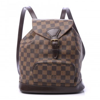 LOUIS VUITTON Damier Ebene Montsouris MM Backpack