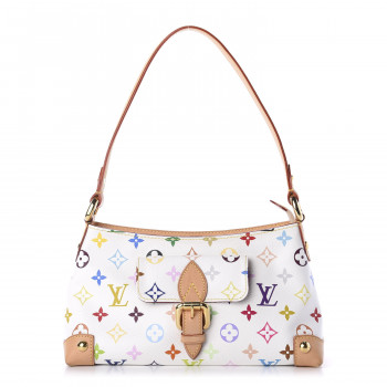 LOUIS VUITTON Monogram Multicolor Eliza White