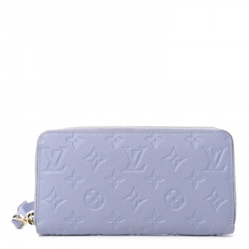 LOUIS VUITTON Empreinte Zippy Wallet Lilac