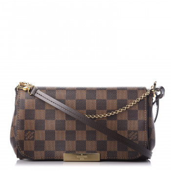 LOUIS VUITTON Damier Ebene Favorite PM
