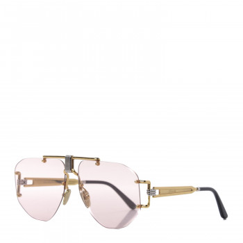 CELINE Aviator Sunglasses CL 40039U/32S Gold Pink