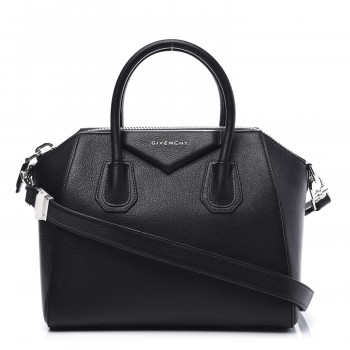 GIVENCHY Sugar Goatskin Small Antigona Black