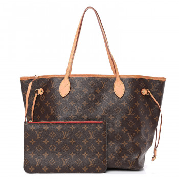 LOUIS VUITTON Monogram Neo Neverfull MM Cherry