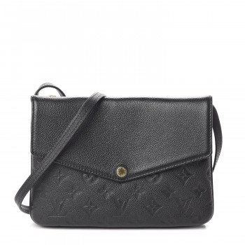 LOUIS VUITTON Empreinte Twice Black