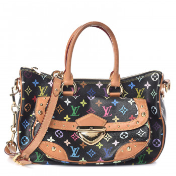 LOUIS VUITTON Multicolor Rita Black