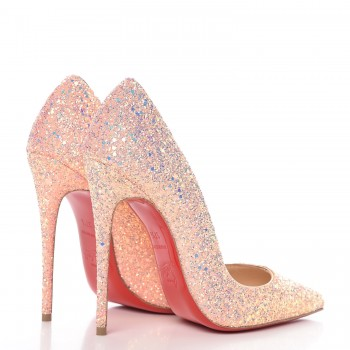 7400a5a15d74 CHRISTIAN LOUBOUTIN Glitter So Kate Dragonfly 120 Pumps 37.5 Pompadour.  Pinch/Zoom. ‹ › ‹ ›