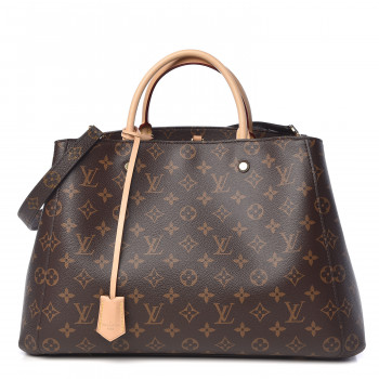 LOUIS VUITTON Monogram Montaigne GM