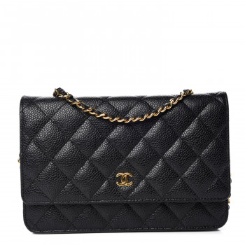 f347f7fe65e190 Shop Wallet On Chain: Shop Chanel Wallet On Chain Pre-Owned Handbags ...