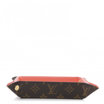 LOUIS VUITTON Monogram Change Tray Poppy